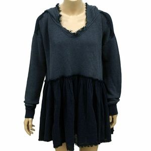 8387 Free People Summer Dreams Oversize Top M